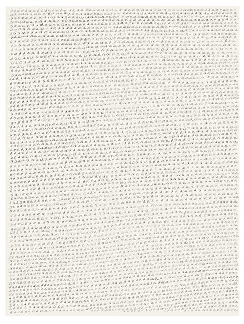 , 'November 72,' 1972, Galerie Michael Sturm