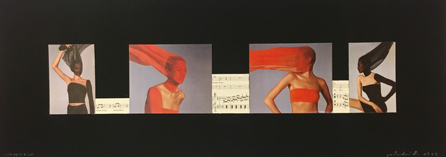, 'liederbild,' 1999, Christine König Galerie