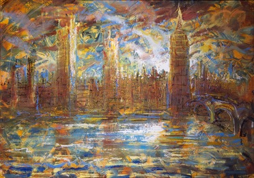 Palace of Westminster, Dawn