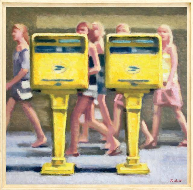 , 'Les Sentinelles,' 2013, Galerie Art Jingle