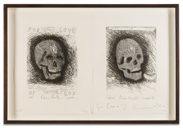 Damien Hirst, 'For the Love of God: Beyond Belief and Thank You (Two Works)', 2007, Forum Auctions