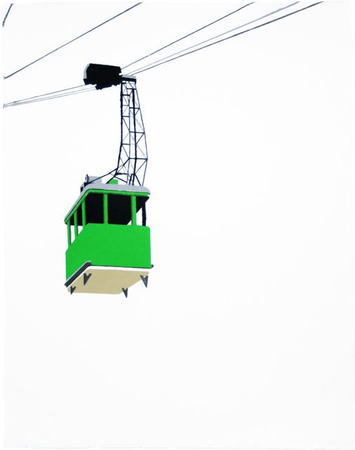 William Steiger, 'Aerial Tramway - Green', 2008, Dieu Donné
