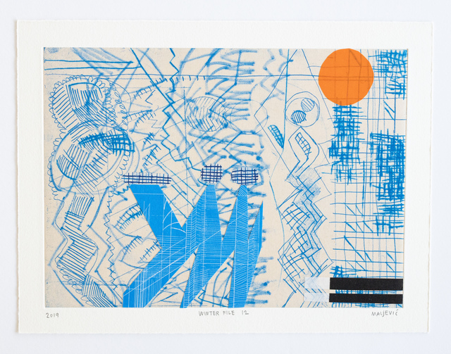 , 'Winter File 12,' 2019, David Krut Projects