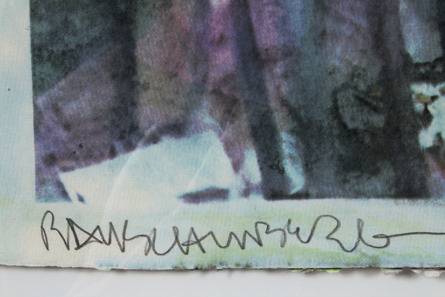 Robert Rauschenberg, 'Local Focus', 2000, Print, 15 color screenprint, Climate Mobilization Benefit Auction