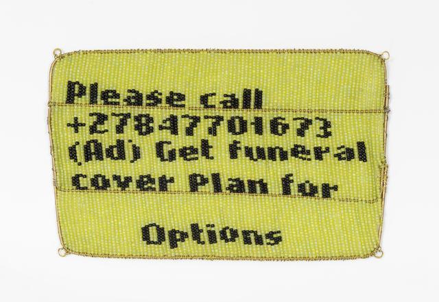 , 'Untitled (Please Call Me),' 2018, WHATIFTHEWORLD