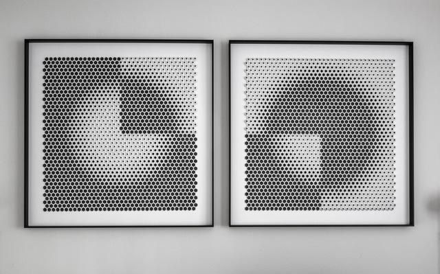 , 'Trimestre R + L (diptych),' 2018, Contempop Gallery