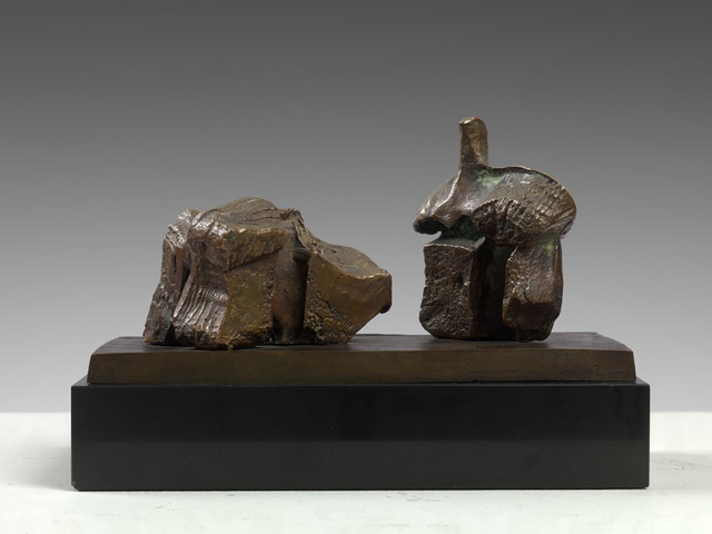 Henry Moore, 'Two Piece Reclining Figure: Maquette No. 1', 1960, Osborne Samuel