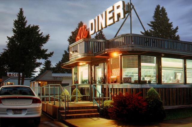 Robert Gniewek, 'Al's Diner #2', 2011, Louis K. Meisel Gallery