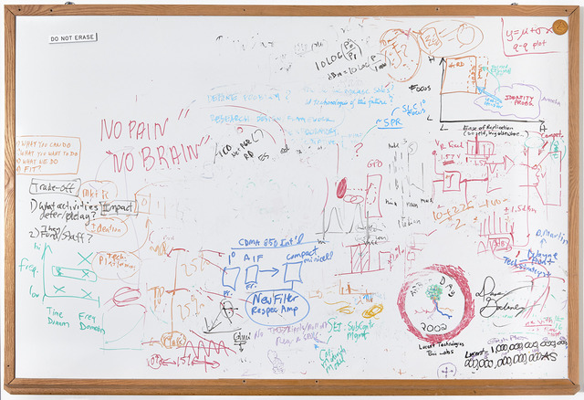 , 'Do Not Erase. No Pain, No Brain,' 2016, Henrique Faria Fine Art