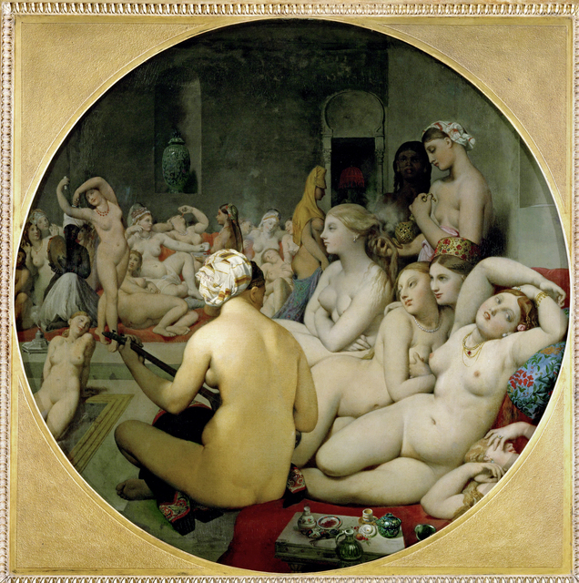 Jean-Auguste-Dominique Ingres, 'The Turkish Bath', 1862, Erich Lessing Culture and Fine Arts Archive