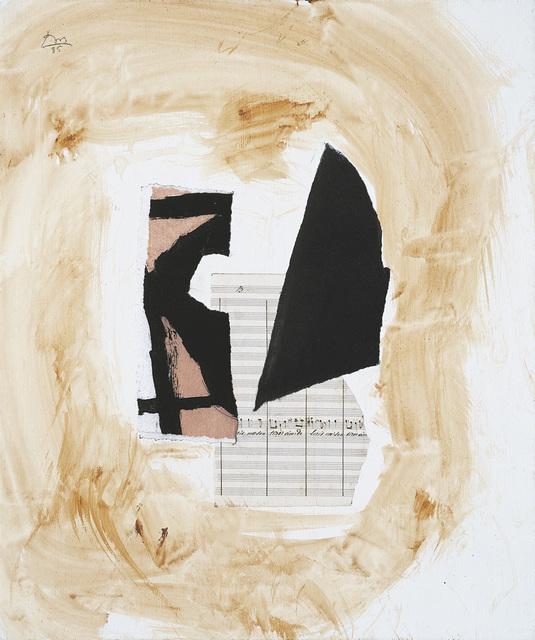 , 'White Music IV,' 1985, Dedalus Foundation