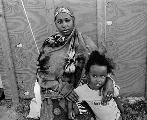 , 'Somali Mother and Daughter, Blue Waters Camp for Refugees,' 2009, Sulger-Buel Lovell