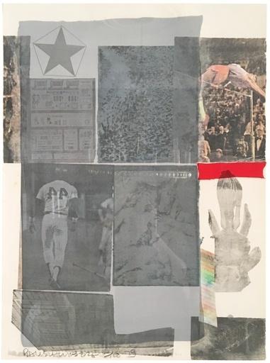 Robert Rauschenberg, 'Back Out', 1979, Hamilton-Selway Fine Art