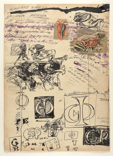 Alberto Greco, 'No title', 1963-1964, MAMAN Fine Art Gallery