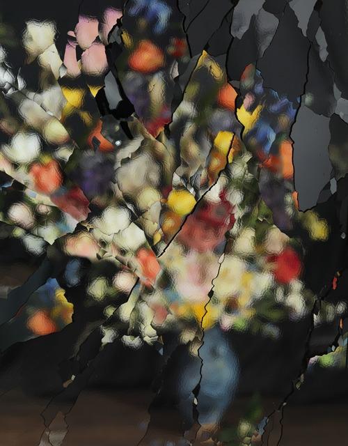 , 'On Reflection, Material: After J. Brueghel the Elder E01,' 2014, Ben Brown Fine Arts