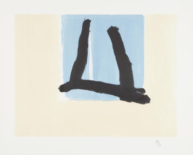 Robert Motherwell, 'Summer Sign', 1990, Phillips