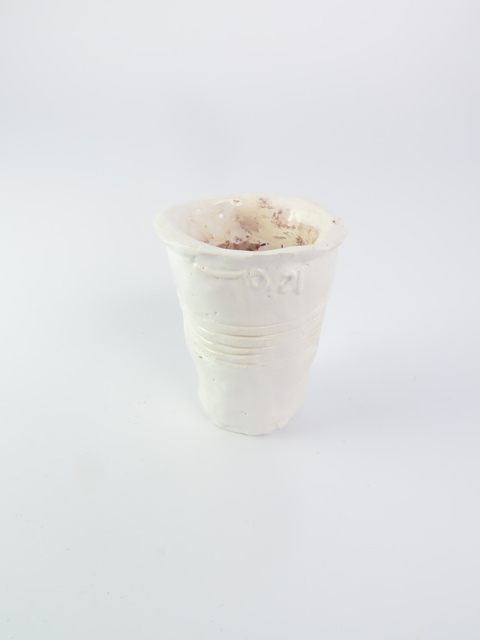 , 'Paper coffee cup,' 2015, V1 Gallery