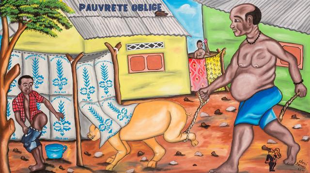 , 'Pauvreté oblige,' 2010, Africa Bomoko