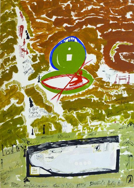 Carlo Zinelli, 'Untitled', 1966, Maroncelli 12