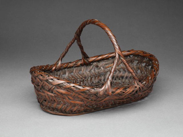 , 'Kobangata (Oval-shaped) Basket,' 1895-1904, TAI Modern