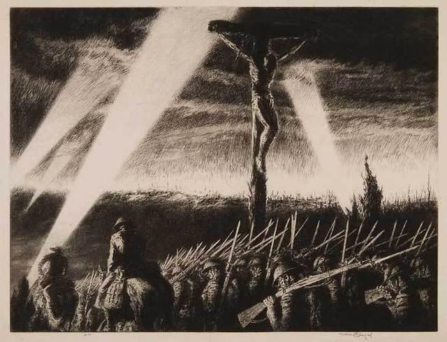 , 'Barrage,' 1933, Osborne Samuel