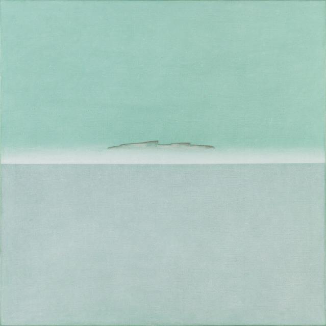 , 'The Island Santo Spirito in the Fog,' 2017, Galerie Kovacek & Zetter
