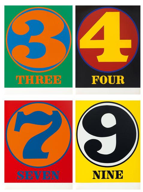 Robert Indiana, 'Numbers', 1968, Koller Auctions