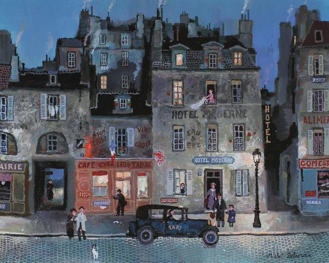 , 'Rue Mazarine,' , Hugo Galerie