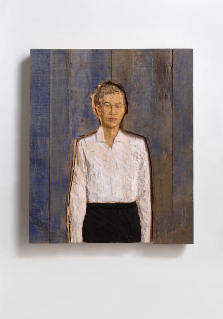 , 'Relief Man,' 2000, Ludorff