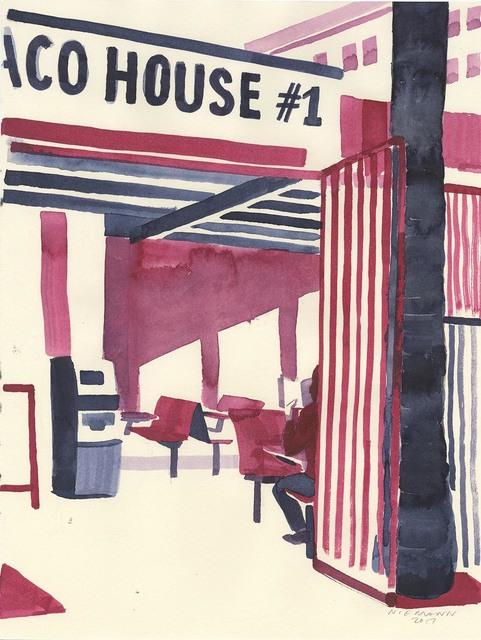 , 'Taco House,' 2017, ZieherSmith