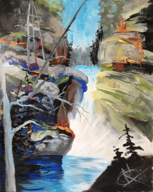 , 'Wild Jasper Waterfall Depth ,' 2019, Lotus Art Gallery