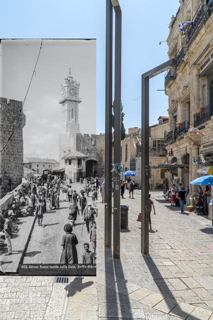 Jack Persekian, 'Inside Jaffa Gate', 2018, Zawyeh Gallery