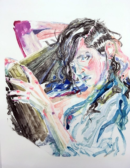 , 'Alexis,' 2017, Catharine Clark Gallery