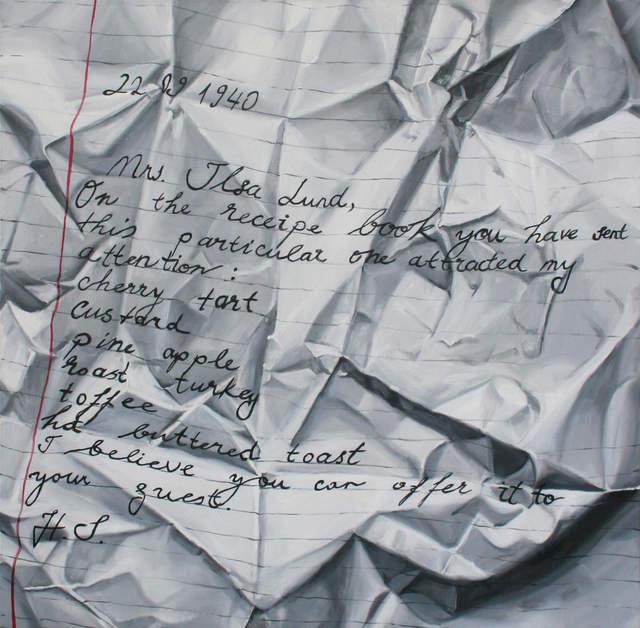 , 'Recipe Book,' 2012, ART50.NET