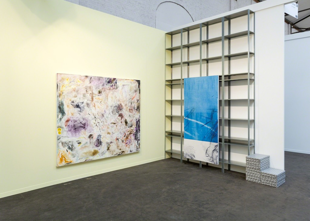 Art Brussels. Installation view, Steve Turner, April 2018