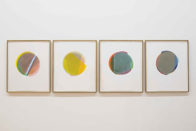 , '3/4 Kreisexzenter (No. 1,2,3,5),' 2015, Bartha Contemporary