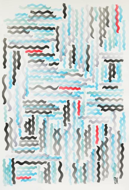 , 'Una pared en marea,' 2016, Federico Luger (FL GALLERY)