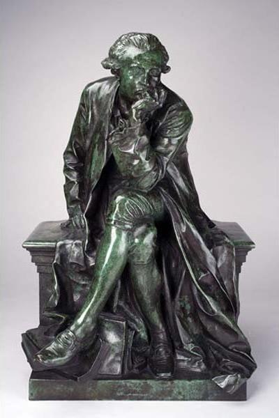 Jules Dalou, 'Reduction of Monument to Antoine-Laurent Lavoisier', Cast ca. 1890, 1900; Modeled 1886, 88, Davis Museum