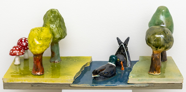 , 'Duck pond,' 2019, Hans Alf Gallery