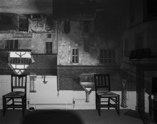, 'Camera Obscura: Courtyard Building, Lacock Abbey, England,' 2003, Hans P Kraus Jr. Fine Photographs