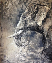 Agnes B. Davis, 'Srilanka', 2016, Painting, Oil on canvas, ZK Gallery