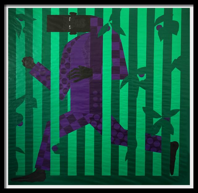 Jon Key, 'Man in the Violet Dreamscape (Running Home) No. 6', 2019, Ross+Kramer Gallery