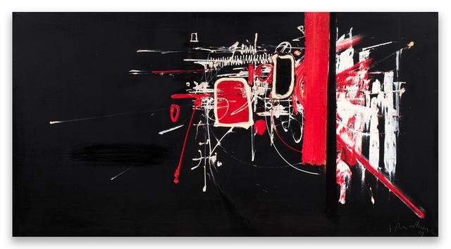 Georges Mathieu, 'Composition', 1959, Dellupi Arte