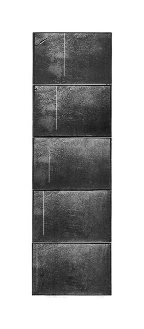 , 'Traslazione, dalla serie Avvicinamento, Rotazione, Traslazione, Milano - Matera 1971-73 (polyptych),' 2018, MATÈRIA
