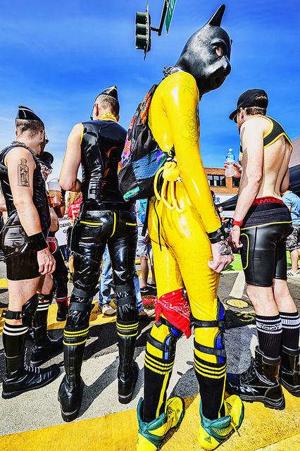 Mitchell Funk, 'Folsom Street Fair.   BDSM  Leather Event  #6', 2015, Robert Funk Fine Art