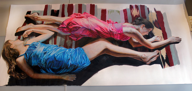 Veronica Constable, 'Sweet Dreams', Drawing, Collage or other Work on Paper, Colored Pencils on Paper, InLiquid
