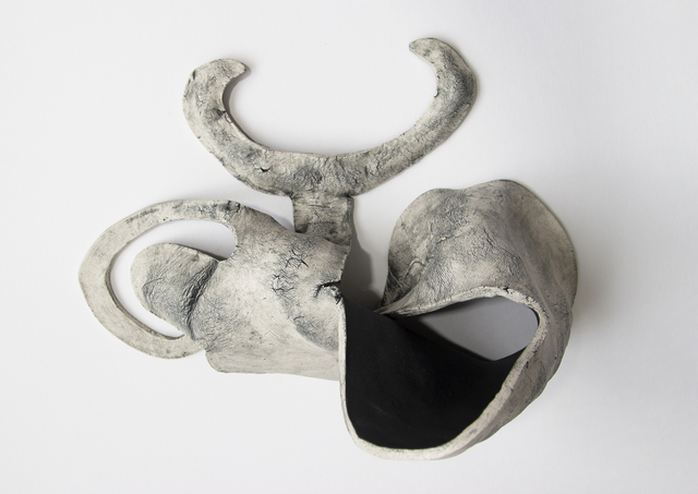 , 'Rhyton, Hand on Hip, Soft Horns,' 2018, CRUSHCURATORIAL