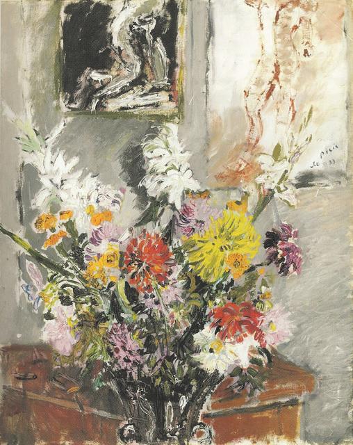 , 'Dalie e Gladioli,' 1933, Galleria Tega