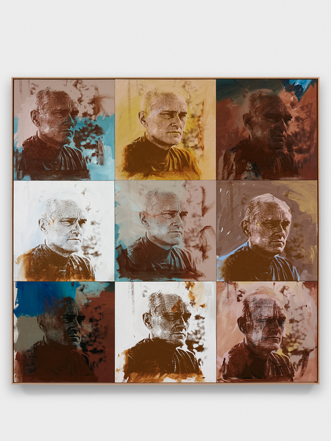 Andy Warhol, 'Philip Johnson', 1972, Painting, Acrylic and silkscreen inks on canvas, The Glass House
