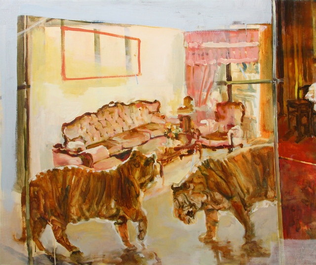 , 'Great World City; Two Tigers in a Room,' 2016-2017, iPreciation